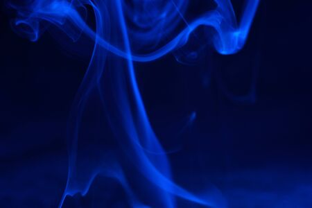 Smoke with color foils Photographed in the studio