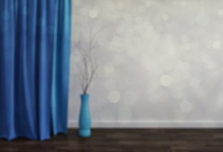#92229690   Blur Abstrakte Wohnzimmer Hintergrund Für Hintergrund . 3d  Render