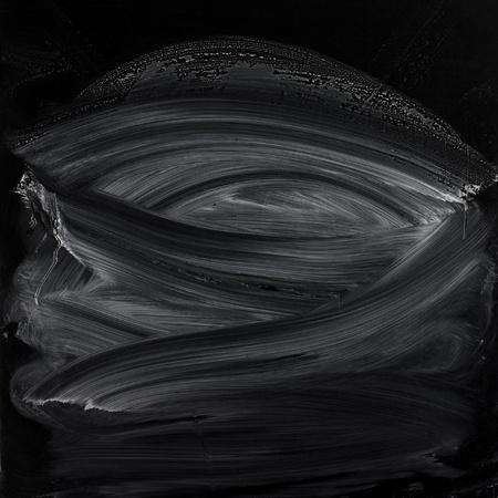 erased: Erased chalk on blackboard