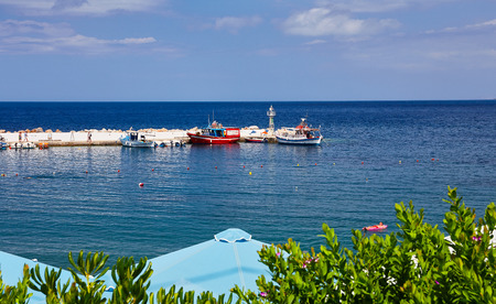 seaview: Seaview at Crete Island in the summer