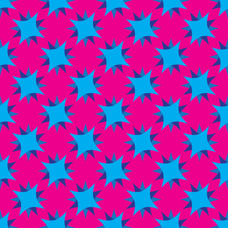 Seamless pattern on the pink background