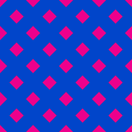 Geometrical pattern on the blue background