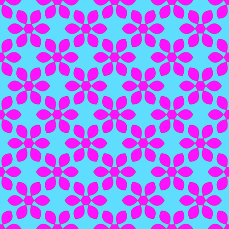Floral pattern on the light blue background