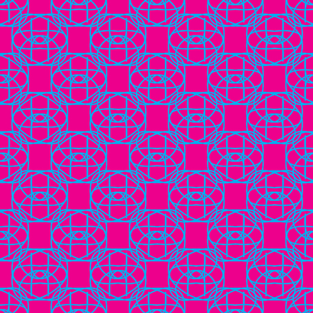Seamless Pattern on the neon pink background