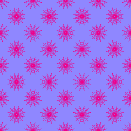 Abstract geometric pattern on the violet background Stock Illustratie