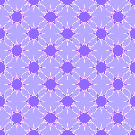 Abstract geometric pattern on the light violet background Stock Illustratie