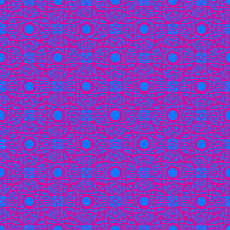 Abstract seamless pattern on the blue background
