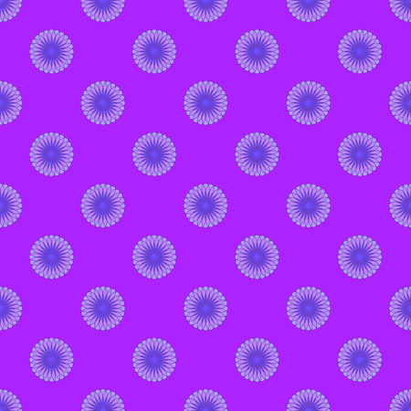 Floral seamless pattern on the violet background Stock Illustratie
