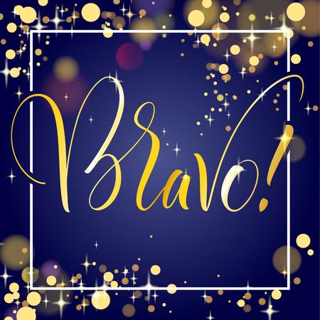 Bravo Hand Lettering