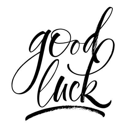 Good Luck Lettering