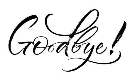 Goodbye Lettering