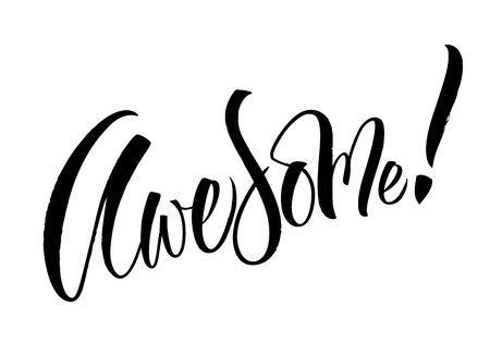 Avesome Lettering