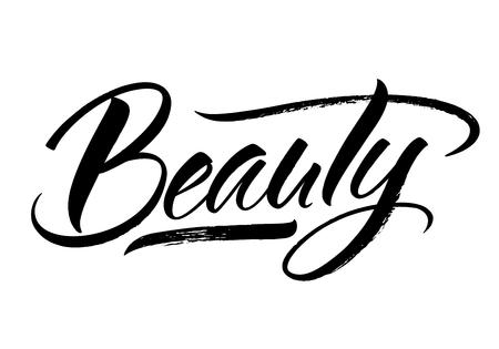 Beauty Lettering