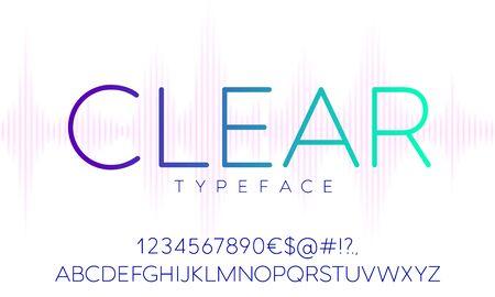 Vector Typeface