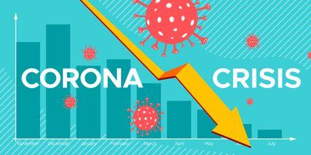 Coronavirus Crisis Illustration