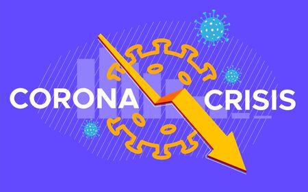 Coronavirus Crisis 向量圖像