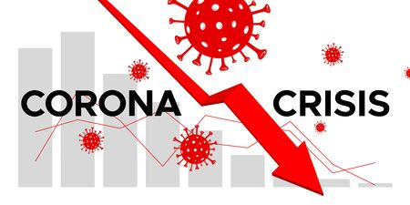 Coronavirus Crisis 矢量图像