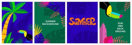 Summer design 向量圖像