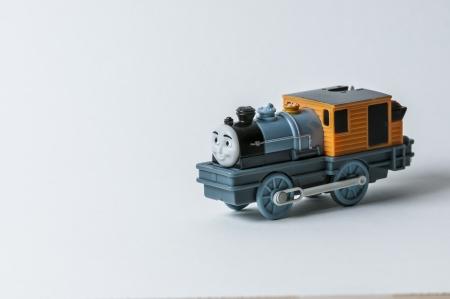 cute fancy little toy train photo