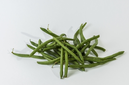 green string bean healthy veggie Stock Photo - 16857298