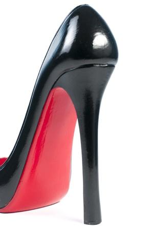 high heel shoe as wine rack ornaments Stock Photo - 16881908
