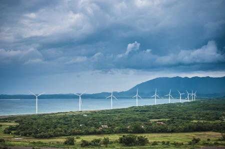 Windmills of Bangui Ilocos Norte Philippines