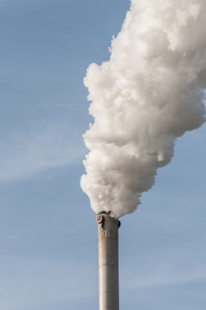 Chimnney Stack smoke cause ofenvironmental  pollution Stock Photo - 21052703