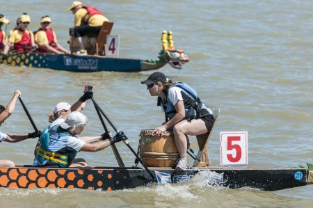 dragonboat: Dragon boat head ready for racing Editorial
