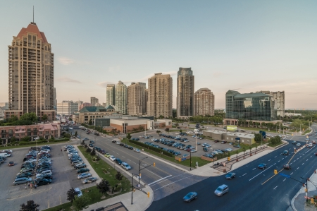 High rise condominium at Mississauga ontario
