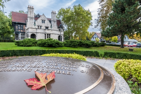 Willistead Manor is a historic 36-room mansion in the heart of downtown Windsor ontario canada