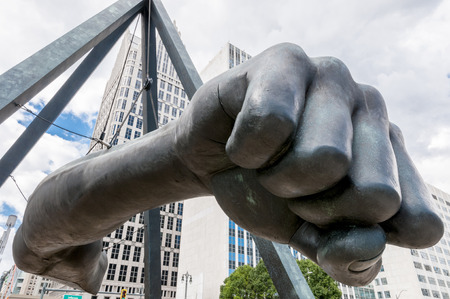 joe louis: The Monument to Joe Louis, known also as The Fist,[1] is a memorial to the boxer at Detroits Hart Plaza. Editorial