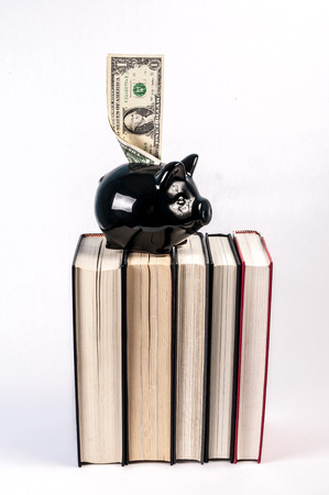 school bills: Expensive cost of education in the USA Stock Photo