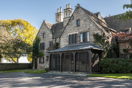 The Tudor revival architecture of the 20th century (commonly called mock Tudor in the UK) first manifested itself in domestic architecture beginning in the United Kingdom in the mid to late 19th century based on a revival of aspects of Tudor style. It lat