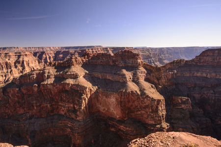 A view in the grand canyon west side photo