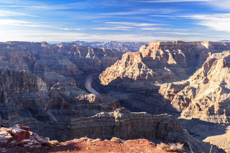toroweap: View at the guano point, west rim grand canyon