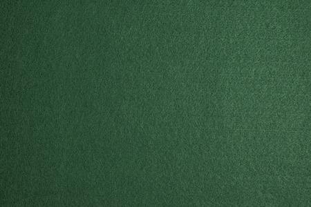 Green felt surface of a gambling table Standard-Bild