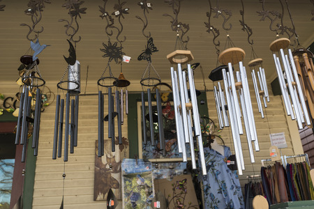 breezy: A variety of windchime hanged in the balcony