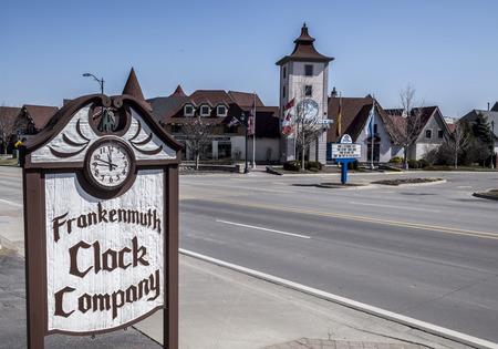 Frankenmuth michigan USA famous  classic clock company