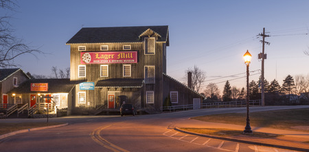 Lager beer museum and store in Frankenmuth michigan USA