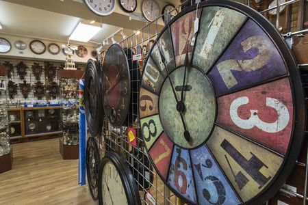 Clock on display for sale in Frankenmuth