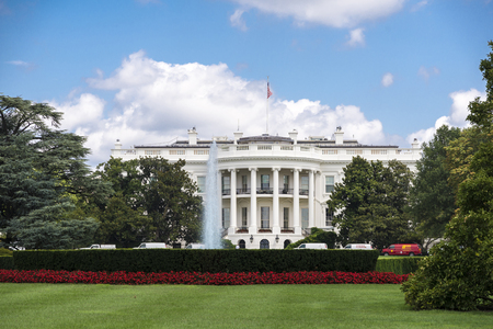 election night: White house is the official residence of the U.S. president