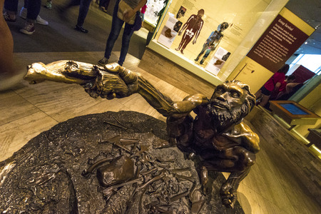 neanderthal women: A prehistiric man depicting sharing among tribes man.