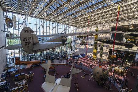 pioneers: An airplane exhibit in smithsonian museum washington DC