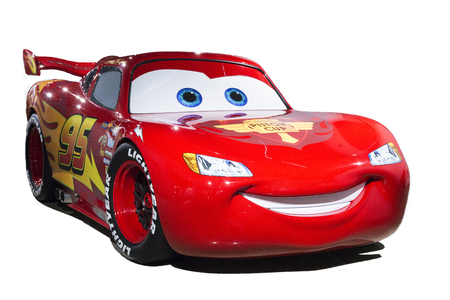 3d lightning: The star of pixar movie Cars, Lightning Mcaquuen Editorial
