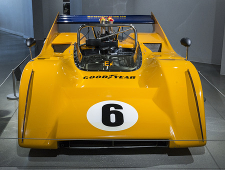 successors: The McLaren M8A was a race car developed by driver Bruce McLaren and his Bruce McLaren Motor Racing team for their entry in 1968 Can-Am season.[1] The M8A and its successors dominated Can-Am racing until the arrival of the Porsche 917.