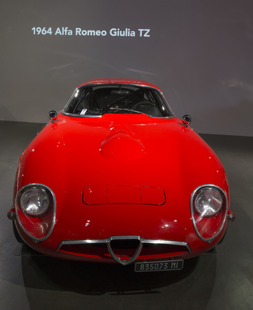 The Alfa Romeo Giulia TZ (also known as the Alfa Romeo TZ or Tubolare Zagato) was a sports car and racing car manufactured by Alfa Romeo from 1963 to 1967. It replaced the Giulietta SZ. Sajtókép