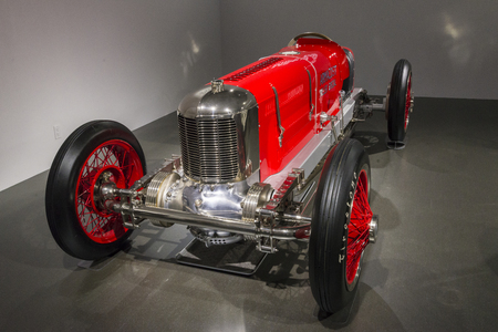 speedster: A classic 1926 sports car model of Armacost special Editorial