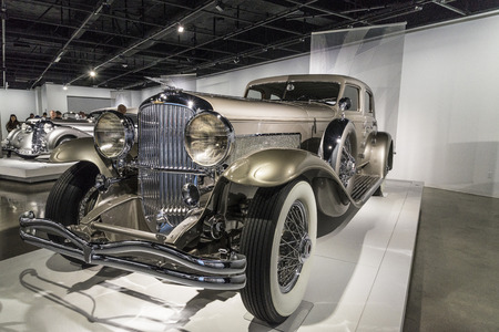 supercharged: The Duesenberg Model J is a luxury automobile made by Duesenberg.
