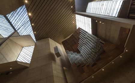 hymn: Pipe organ at Cathedral of City of Angle