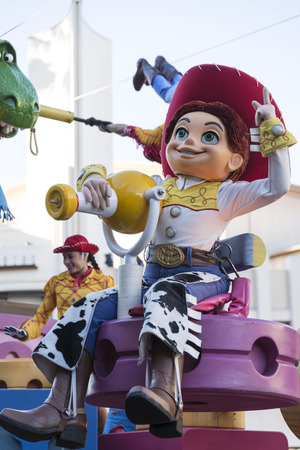 toy story: Jessie, partner of Woody in toy story movie Editorial